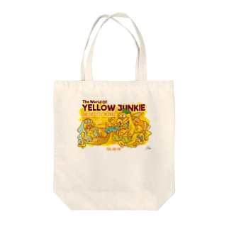 YELLOW JUNKIE「人魚ちゃん」 Tote bags
