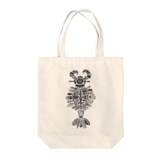 アノマロカリス Tote bags