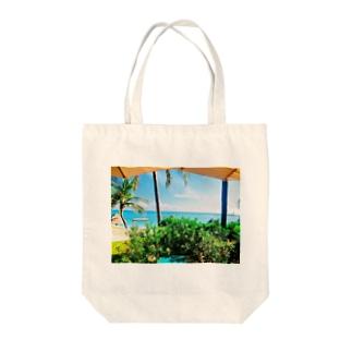 ビーチリゾート3 Tote bags
