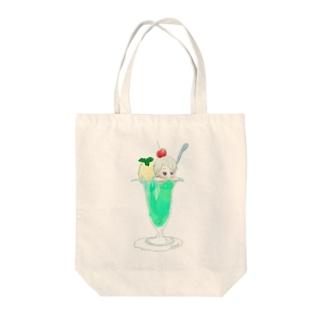 人魚姫ソーダ Tote bags