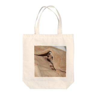 ハリかくれんぼ Tote bags
