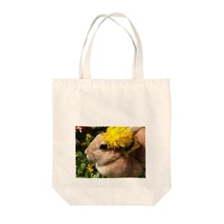 たんぽぽちぃちゃん Tote bags