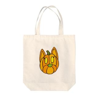 クッキーパンプキン Tote bags