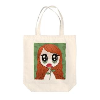 Roseちゃん Tote bags