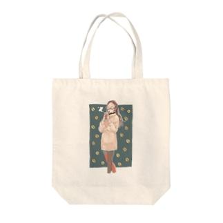 ソイラテ Tote bags