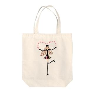 マドモアゼル ノンちゃん Tote bags