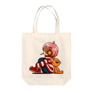 「ニコバツ」まったり Tote bags