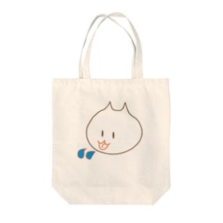 ぺっぺ Tote bags