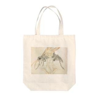 オオベッコウバチ少女 Tote bags