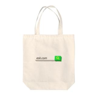 ask.com Tote bags
