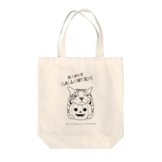 あごのせハロウィンたまき Tote bags