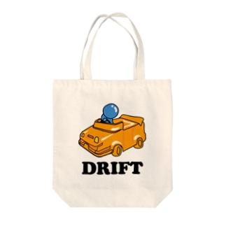 ドリフト 人生 Drift Tote bags