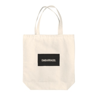 EMBARRASSMENT Tote bags