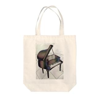 歪ピアノ 原石 Tote bags