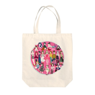 mean girls Tote bags