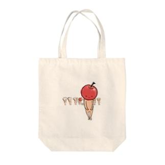 りんごジャムいかが Tote bags