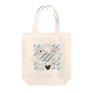 flower Tote bags
