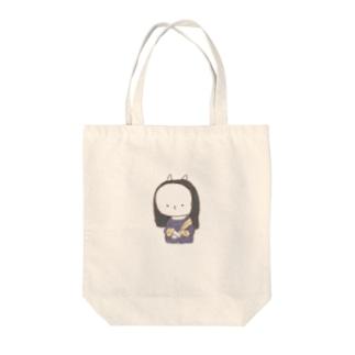 もにゃリザ Tote bags