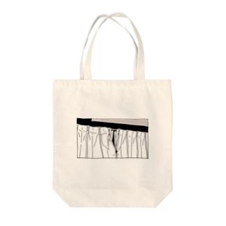 グンナイ Tote bags