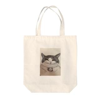 幸福ちゃん Tote bags