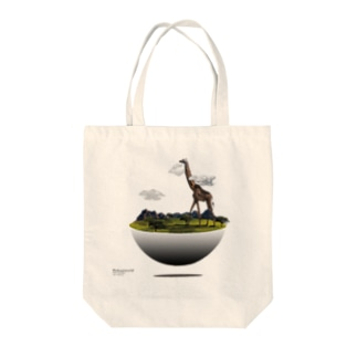 Higher and Higher Tote bags