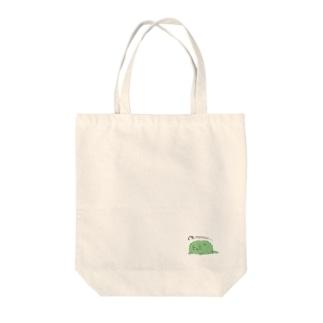 カビネコ(ぐったり) Tote bags