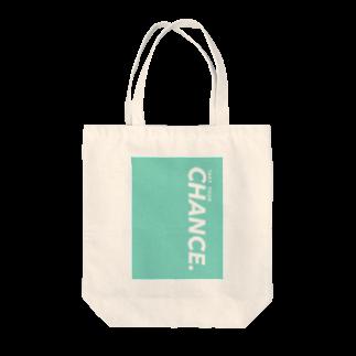 TYC☺︎(Take Your Chance!)のシンプルカラーTYCロゴ Tote bags