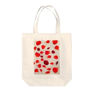 幸せのおすそ分け Tote bags