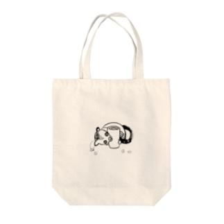 ジャコウネコ Tote bags