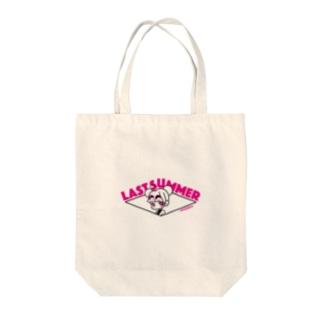 last summer vacation_だんご Tote bags