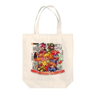 サリキョウお誕生日 Tote bags