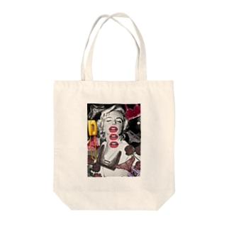 モンローの世界 Tote bags