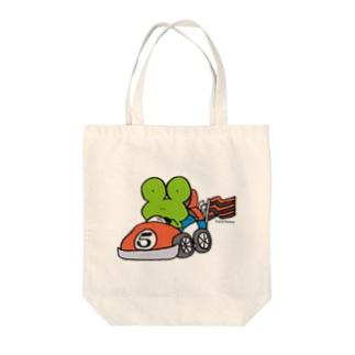 ゴーゴーカート Tote bags