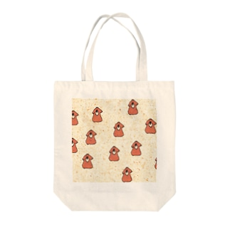 pattern_dog Tote bags