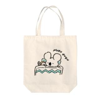 コアラくんとリスザルくん Tote bags
