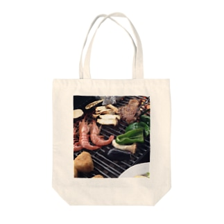 BBQ♫ Tote bags