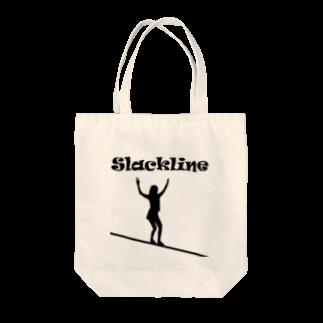 SLACKLINE HUB(スラックライン ハブ)のスラックライン(ウォーク) Tote bags