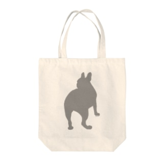 フレンチブルまさお Tote bags