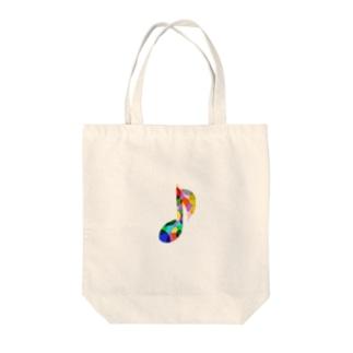 八分音符 Tote bags