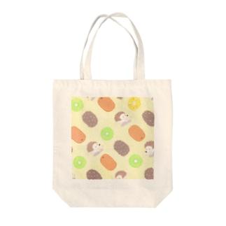 キウイ モノグラム Tote bags