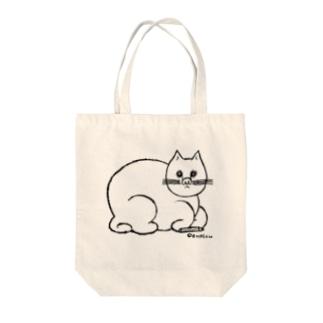 えんぴつねこ Tote bags