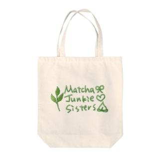 Matcha Jukie Sisters Tote bags