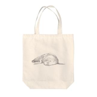 果報は寝て待て(ロゴ無し) Tote bags