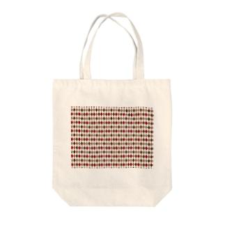 菱形 Tote bags
