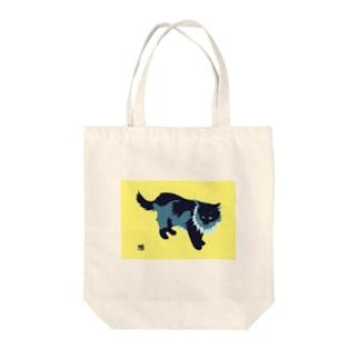 たてがみのある猫の布かばん Tote bags