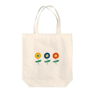 レトロなお花 Tote bags