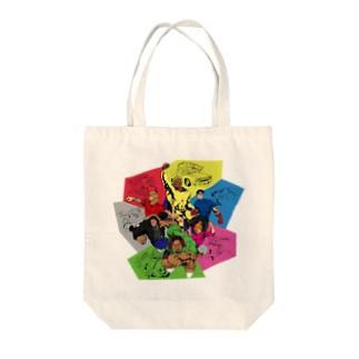 トートバッグ(グーレンジャーズ) Tote bags
