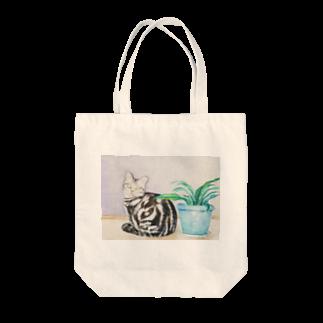 コン・デク・レンのポアロと植え木鉢 Tote bags
