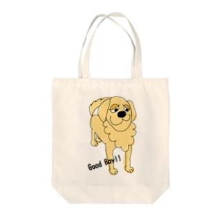 Good Boy!!ゴールデン Tote bags
