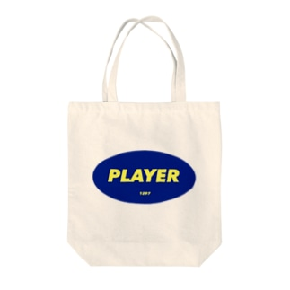 player Tote bags